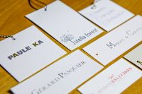etiquette carton blanc